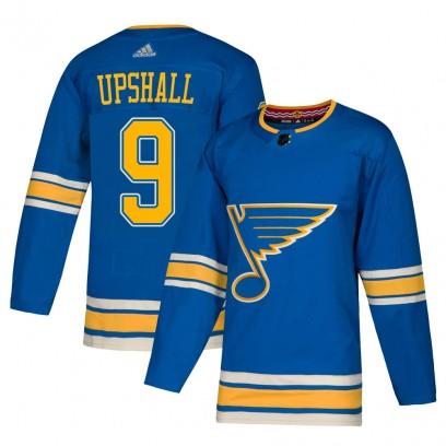 Men's Authentic St. Louis Blues Scottie Upshall Adidas Alternate Jersey - Blue
