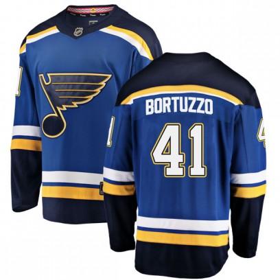 Men's Breakaway St. Louis Blues Robert Bortuzzo Fanatics Branded Home Jersey - Blue